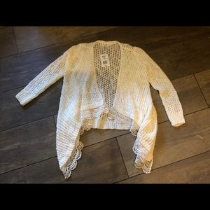 Girls Lace Cardigan Size 7 Brand New With Tags